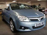 2006 Vauxhall Tigra 1.4i 16v ( a/c ) Exclusiv Convertible HEATED LEATHER SEATS