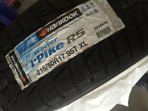 4 Brand New 215/50R17 Winter Tires