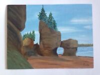 Beautiful painting of fundy