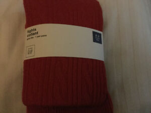 BNWTRed Gap Tights Size 2/3 Toddler Perfect for Christmas