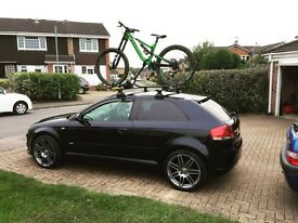 Thule roof bars and carrier