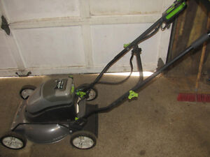 Earthwise 24 volt lawnmower
