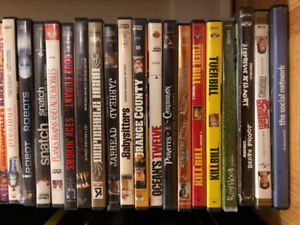 90 DVDs movies/shows DVD Lot