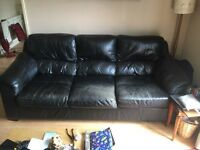 Free 3 Seater Leather Sofa need gone asap Kingswood area