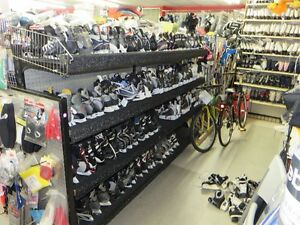 NEW & USED ICE SKATES & HOCKEY EQUIPMENT FOR THE ENTIRE FAMILY