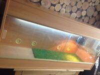 4ft Vivarium , UV Starter, UV Tube, Heat Lamp.
