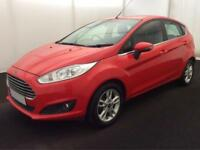 Ford Fiesta 1.0, 1.2, 1.4, 1.5 TDCI ZETEC EDGE TITANIUM RED FROM £31 PER WEEK!