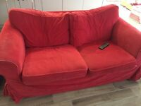 Ikea Ektorp Sofa and Two Armchairs
