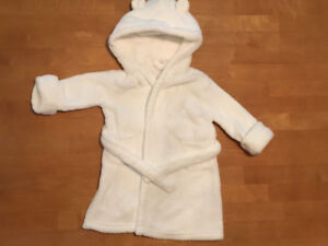 Bath Robe & Sleep Sack - *Like New* (0 to 6 months)