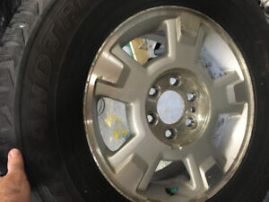 Ford F-150 rims with tires