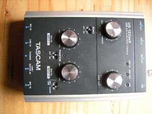 Tascam interface us-122mkii