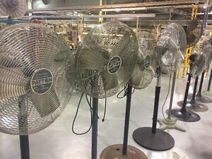 Industrial quality floor fans. Good to excellent condition! Cambridge Kitchener Area image 1