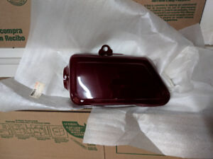 Yamaha 1977 XS650 Right Side Cover Maroon NOS