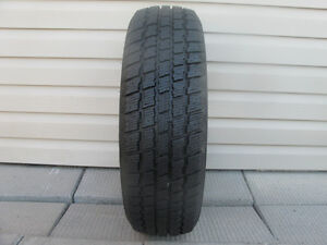 ONE (1) COOPER WEATHER-MASTER S/T2 WINTER TIRE /185/70/14/ - $30