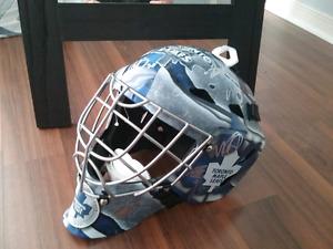2015 Toronto Maple Leafs team signed mask