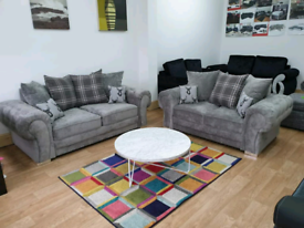 *3+2 Seater Verona Sofa With Scatter Back Cushions