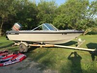 1985 Edson Open Bow Deep V 16ft (sold pending pick up)