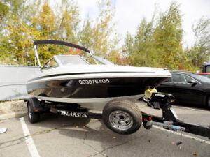 Larson LX 60 heures moteur 3,0L 7 places