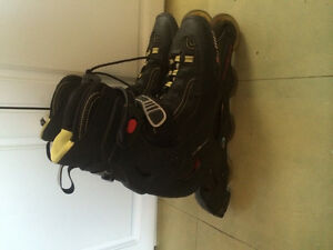 Like new rollerblades pro 03 rollerblades size 10 mens