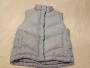 Gap Sparkle Blue Vest Size 5-6