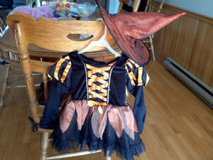 WITCH COSTUME HALLOWEEN