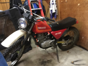 Vintage 1982 Suzuki sp125  want gone looking for trade