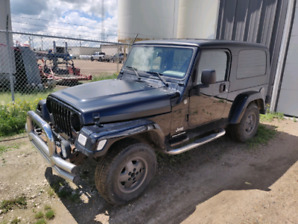 2005 Jeep Tj Unlimited 6 speed 4.0 ONLY 91k *ACTIVE*