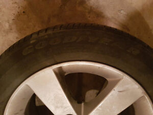 4 Honda civic rims  and all season tires Gatineau Ottawa / Gatineau Area image 2