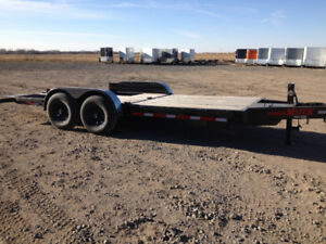 USED - 2017 Majestik L270 - 18ft Bobcat Trailer with wedges