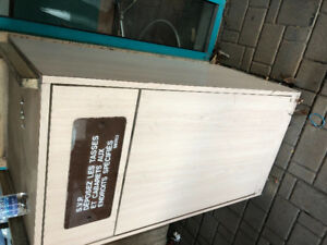 GARBAGE CABINETS