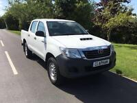 2014 64 TOYOTA HILUX 2.5D-4D 4WD 2014 ACTIVE DOUBLE CAB 1 COMPANY OWNER