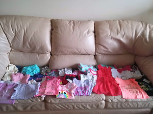 Brand new or euc infant girls size 6months-12 months lot
