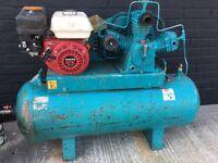 Honda air compressor tools spraying mechanic