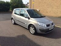 Automatic Renault scenic 1.6 Excellent condition low mileage mot till 20/6/17