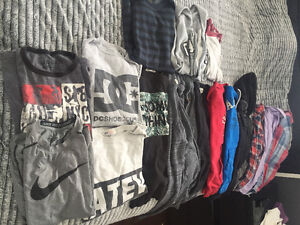Boys tshirts, long sleeve, sweaters, jacket and dress shirts