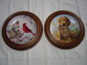 Rare collectible plates