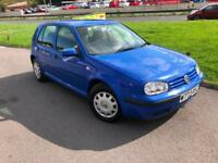2000 Volkswagen Golf 1.6 SE - New MOT - 126000 Miles