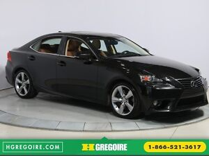 2014 Lexus IS350 4dr Sdn AWD AUTO CUIR TOIT NAV MAGS BLUETOOTH