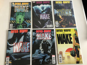 The Wake comic book series 1-10 Scott Snyder