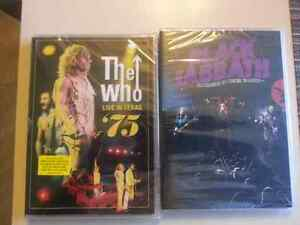 2 New DVD s The Who and Black Sabbath