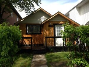 Walk to downtown-furnished 2 bedroom century bungalow