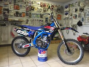 2010 Yamaha YZ250 F completely customized