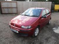 2003 Fiat Punto 1.2 Active Petrol Manual 5 Door Hatchback Red Learner