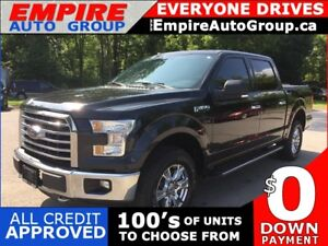 2015 FORD F-150 XLT SUPERCREW * XTR PACKAGE WITH BED LINER AND T