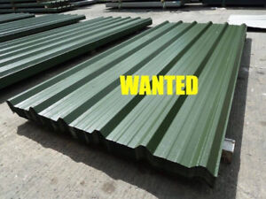 Wanted Roofing Tin