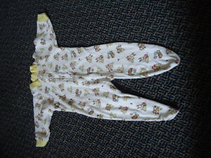 Boys Size 6-9 Months Footed Sleeper