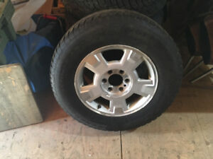 Ford factory tires and rims