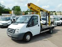 FORD TRANSIT T350M 115PS PTO FLAT BED ACCESS PLATFORM CHERRY PICKER