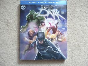 Justice League Dark Blu-Ray/DVD/Digital HD