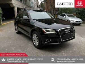 2017 Audi Q5 2.0T Progressiv + LOCAL + NO ACCIDENTS!